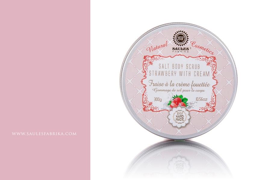 Kuvahaun tulos haulle saules fabrika strawberry with cream scrub